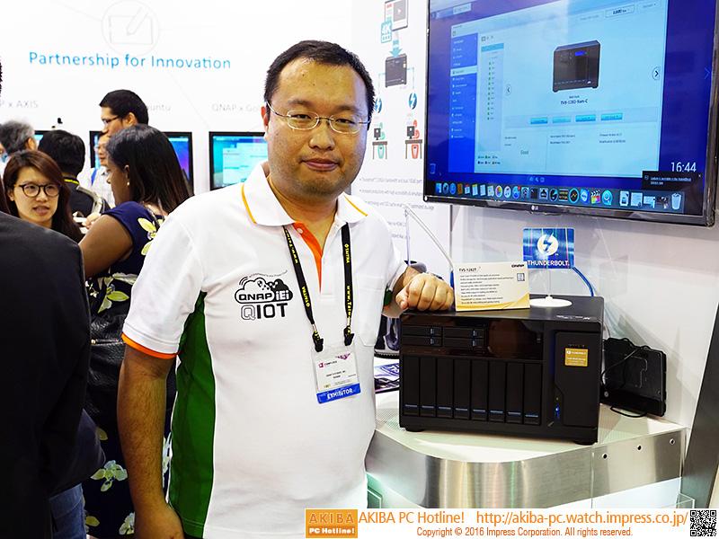 シニアプロダクトマネージャーのJason Hsu氏。