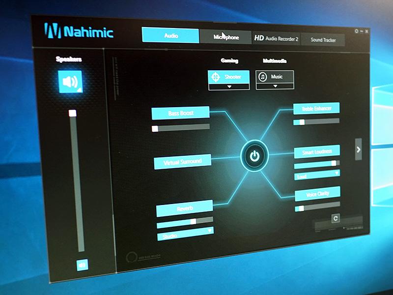 「Nahimic」でサポートされていた機能は「Nahimic 2」でもそのまま踏襲されている。