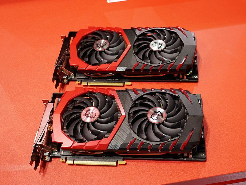 「Twin Frozr」搭載のGTX 1080は2モデル登場予定。
