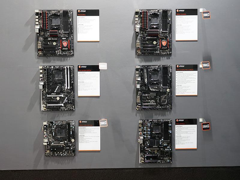 AMDプラットフォーム向けのマザーボード。