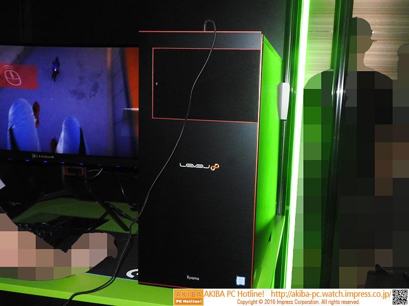 LEVEL∞ブランドのGeForce GTX 1080搭載ゲーミングPC