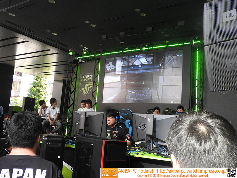 FPS「CS:GO」のプロゲーマー頂上決定戦も行なわれた