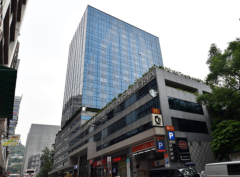ZOTACの本社は香港沙田市の高層オフィスビルの上層階にある。