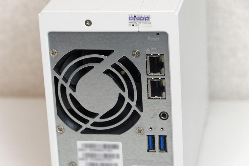 USB 3.0ポート×3とギガビットイーサネットを2ポート装備