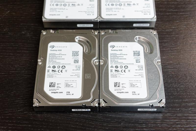 検証に使用した2TBのデスクトップ用HDD。検証に使用したPCのスペックはCore i3 530+メモリ4GB+Windows 10 Home(64bit)。チップセットはP55で、SATAインターフェイスは6Gbps対応だ。