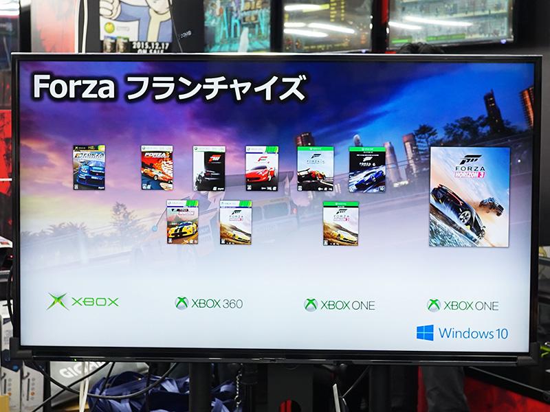 Forzaシリーズは本格的なレースシミュレーターの「Motorsport」とカジュアルに遊べる「Horizon」があり、今回登場した「Horizon 3」はオーストラリアを舞台に自由にドライブが楽しめるオープンワールドタイプのゲーム。