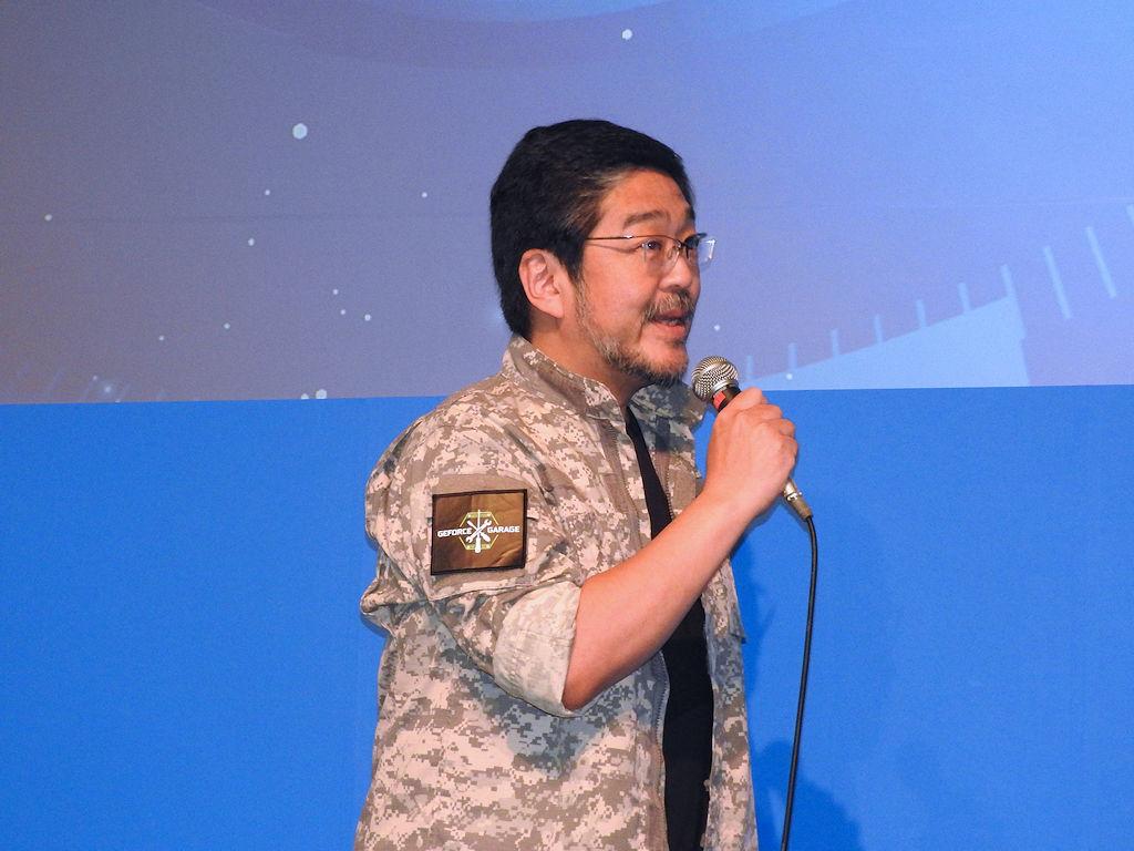 さらに、改造バカこと高橋敏也氏も登場。「『純潔のマリア』の『ミカエル』に会えるときいて」と井上さんに挨拶
