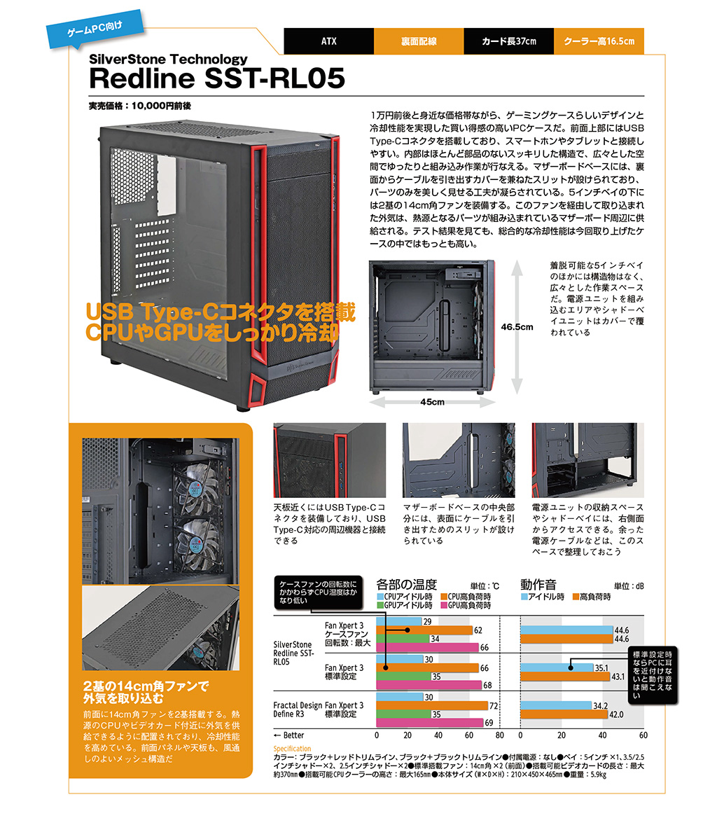 SilverStone Technology Redline SST-RL05