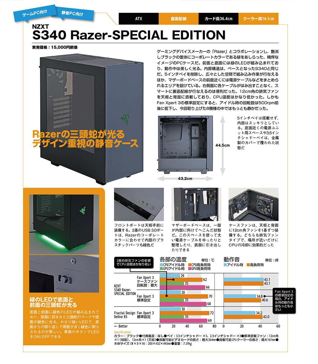 NZXT S340 Razer-SPECIAL EDITION
