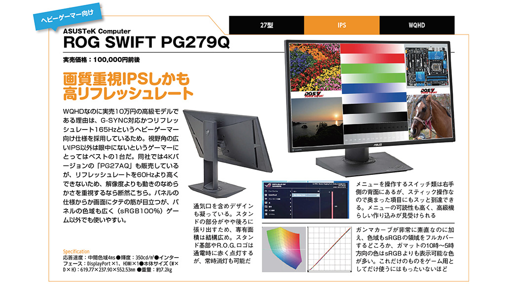 ASUSTeK Computer ROG SWIFT PG279Q