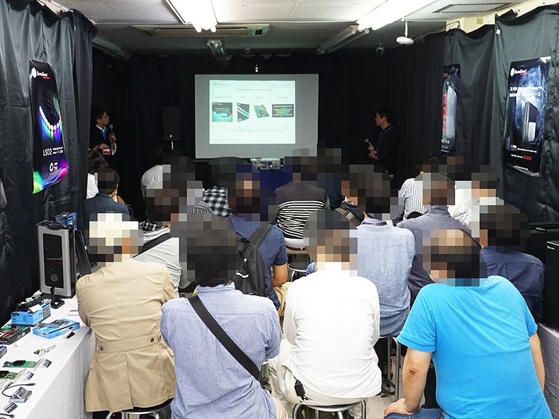 トークセッションは多くの人で賑わった