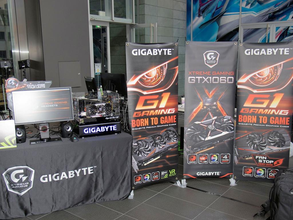 GeForce GTX 1060や同1050といった普及価格帯の製品を推していた