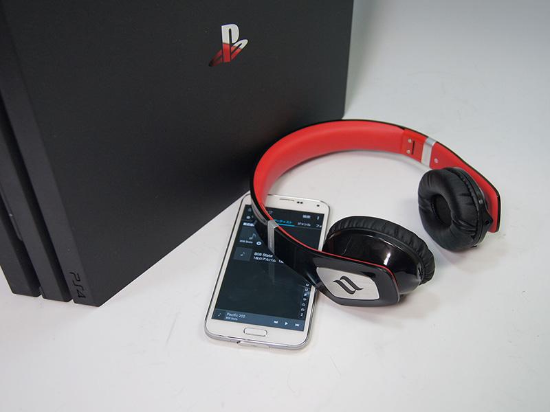 Bluetoothヘッドホンを利用してスマートフォンで音楽を再生してみたが2.4GHz、5GHz共に影響はほとんどなかった