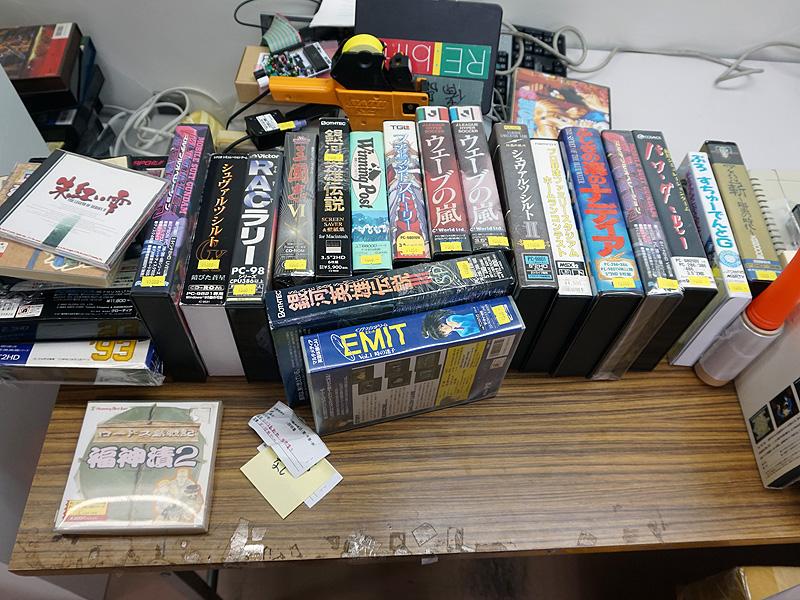 レトロゲームソフトは500円から用意されるそう。