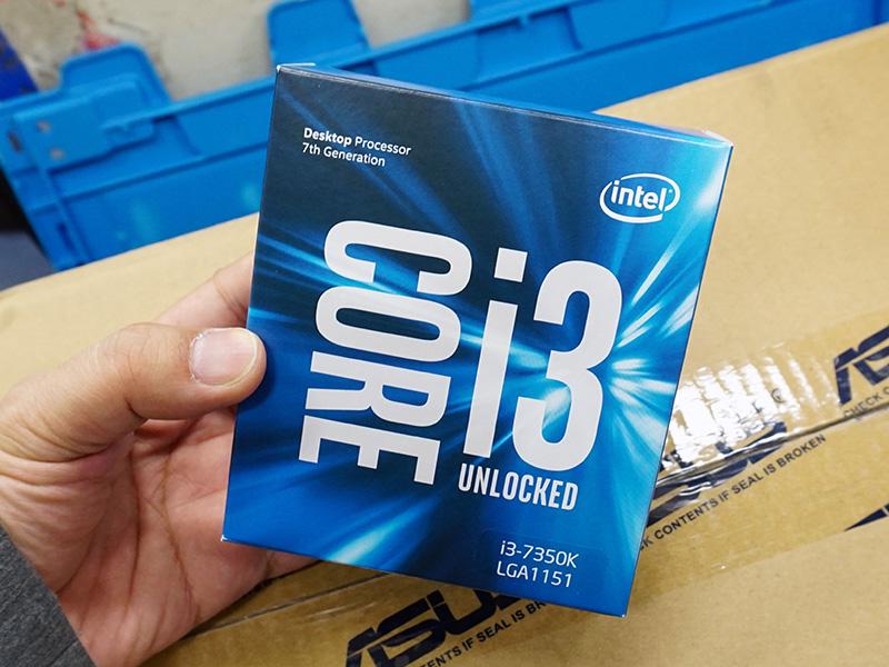 Core i3では初の倍率固定解除モデル「Core i3-7350K」