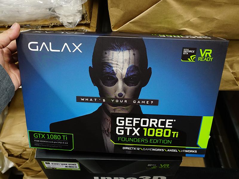 GALAX「GF PGTX1080TI/11GD5」