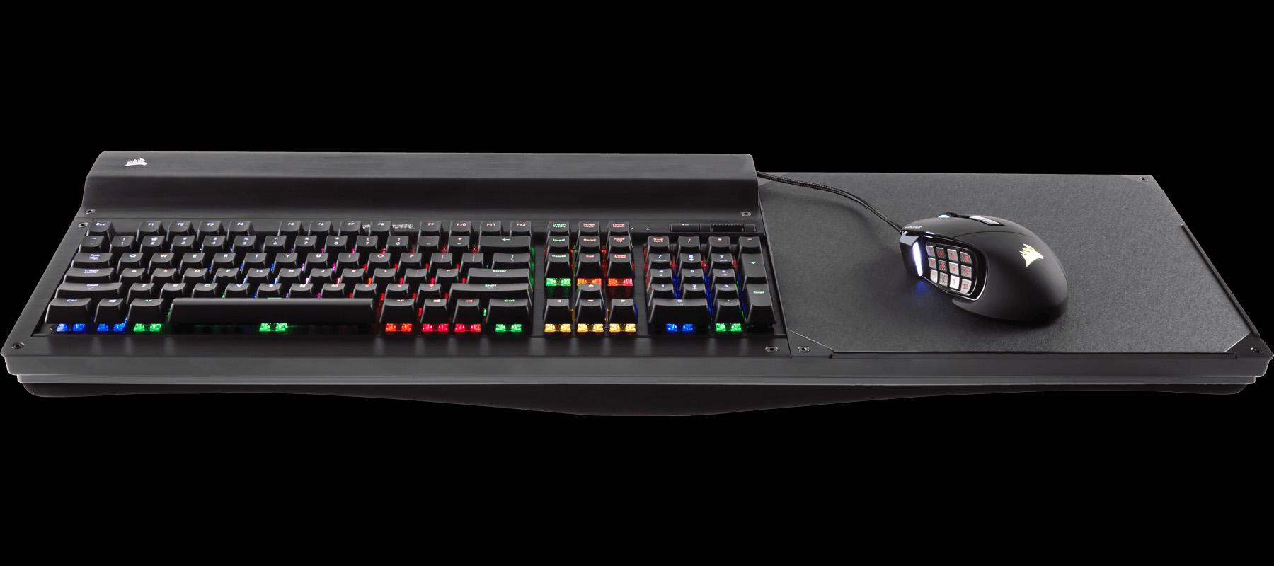 リビングでキーボード/マウスを使用しやすくするアタッチメント「LAPDOG」