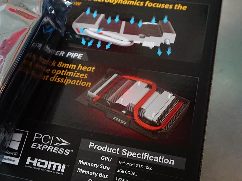 GeForce GTX 1060モデルの構造