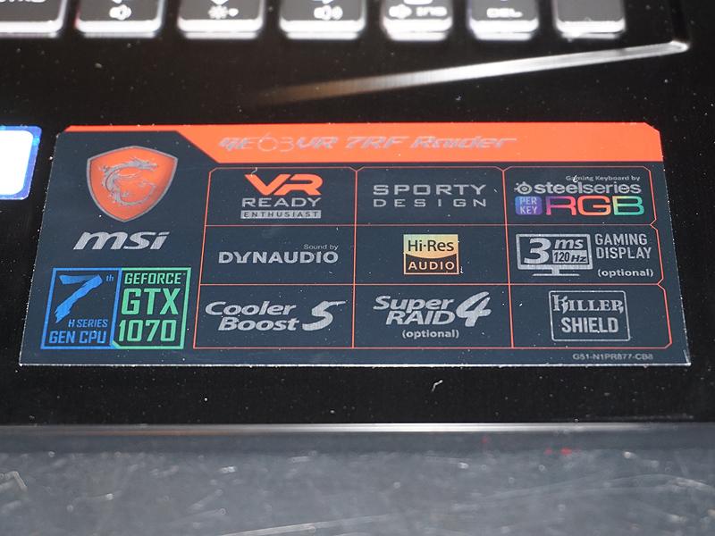 GeForce GTX 1070搭載