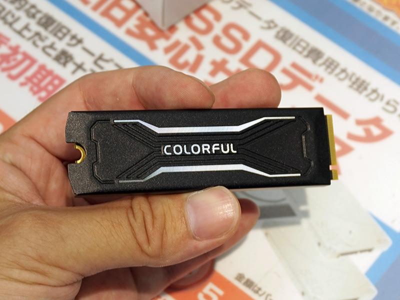 Colorful製M.2/NVMe SSD(240GB)「CN600 240G」