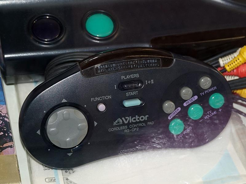 付属のワイヤレスゲームパッド