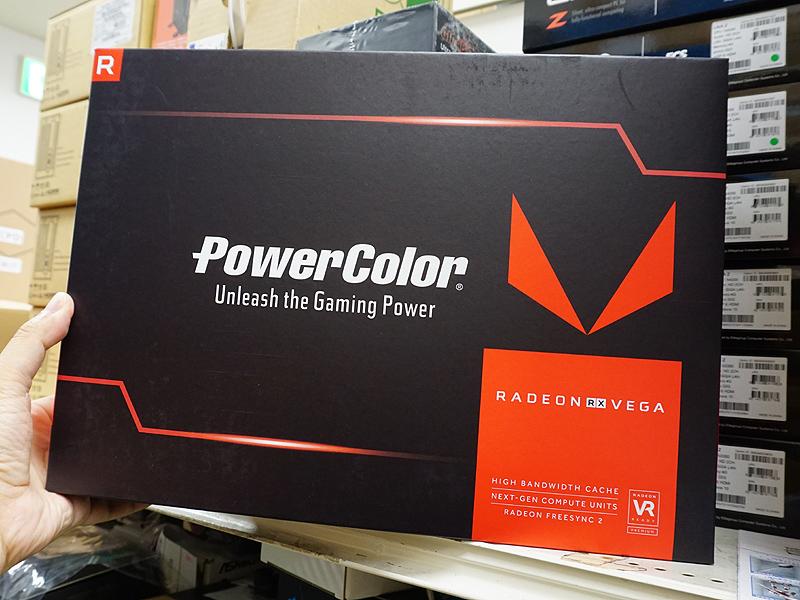 PowerColor AXRX VEGA 64 8GBHBM2-3DH(標準モデル)