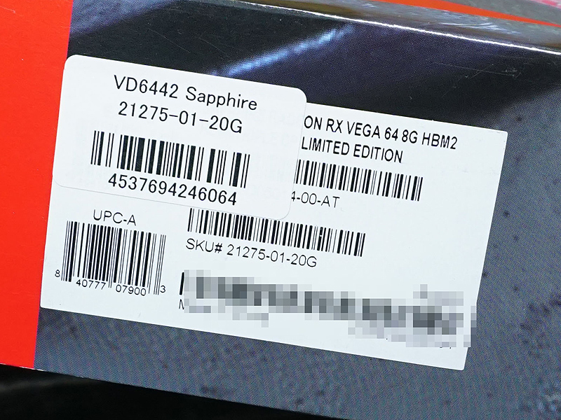 SAPPHIRE 21275-01-20G(限定モデル)