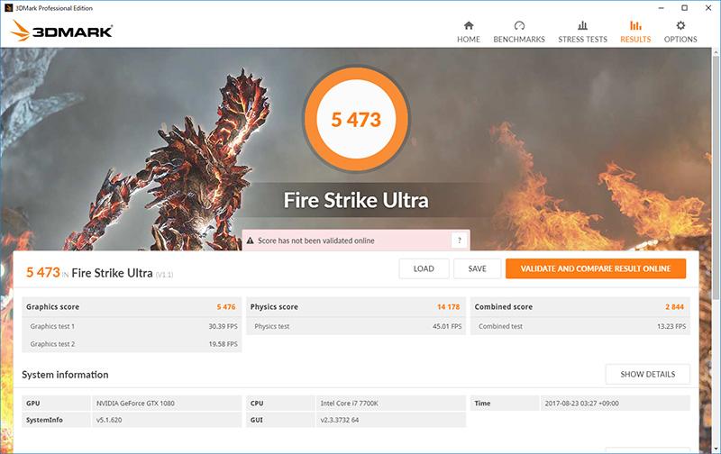 3DMark-Fire Strike Ultra