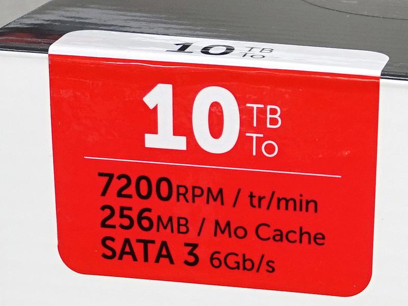 NAS向けの10TBモデル