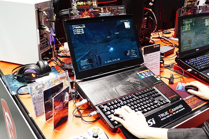 GeForce GTX 1080を2基搭載した18.4インチのゲーミングノートPC「MSI GT83VR Titan SLI」