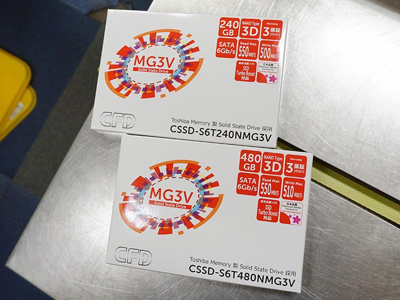 64層3D NAND採用のCFD「CSSD-S6TNMG3V」シリーズ