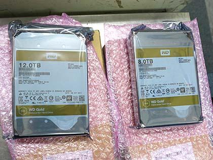 Western Digitalの12TB HDDが初登場、データセンター向けの「WD Gold」