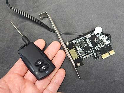 PC電源のON/OFFやリセットが出来るワイヤレスリモコンに新モデル、SilverStone製