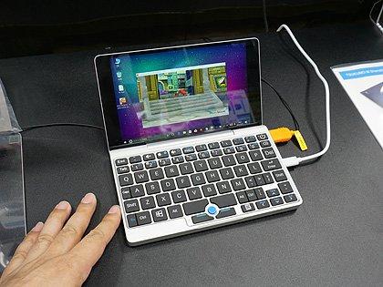 7インチサイズの超小型ノートPC「GPD Pocket」がツクモに再入荷