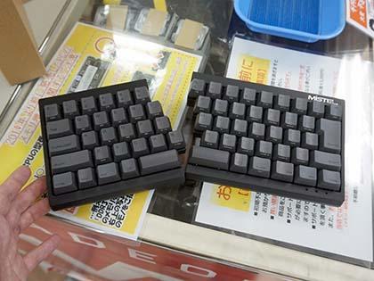 左右分離型の小型キーボード「Barocco」に日本語配列モデルが登場