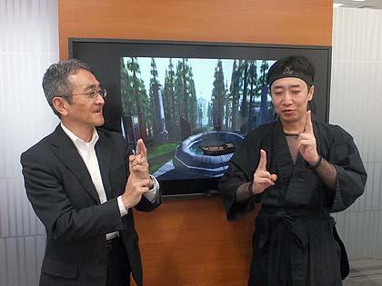 川口洋司氏が語る『MYST』の魅力と広報時の苦労 ゲストの川口洋司氏(写真左)と、忍者増田氏(写真右)。(C)Cyan, Inc. and SUNSOFT