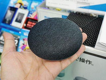 実売6,480円のスマートスピーカー「Google Home Mini」の店頭販売スタート