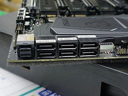 MSIのCoffee Lake-Sマザーは計9種類、PCI搭載モデルもあり SATAポートなど