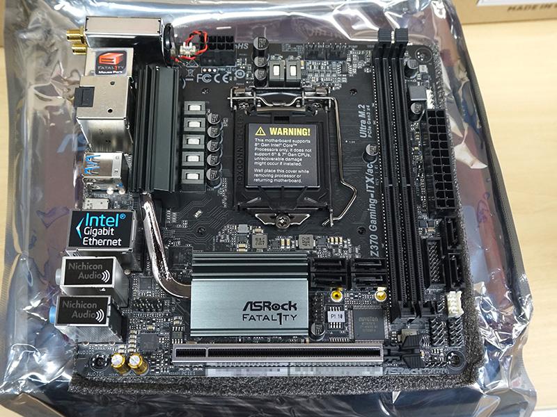 Fatal1ty Z370 Gaming-ITX/ac