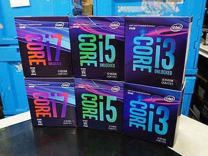 Intelの最新CPU「Coffee Lake-S」が遂に発売、注目のCore i7-8700Kは税込47,980円