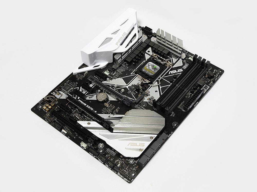 Intel Z370 チップセット搭載のマザーボード「ASUS PRIME Z370-A」