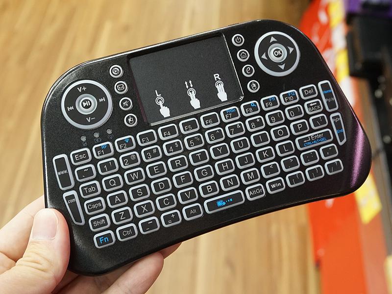 ワイヤレスミニキーボード/タッチパッド/USB Ver2(DN-915268)