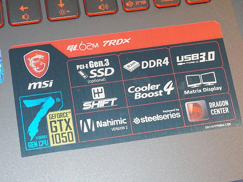 GeForce GTX 1050なども備える