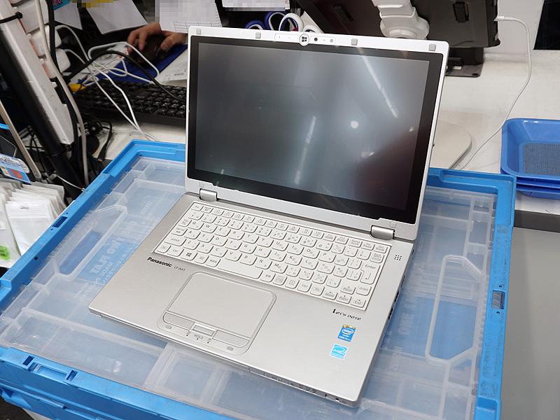 パナソニックのモバイルノートPC「Let's note AX3(CF-AX3GF3CS)」の中古品が特価販売
