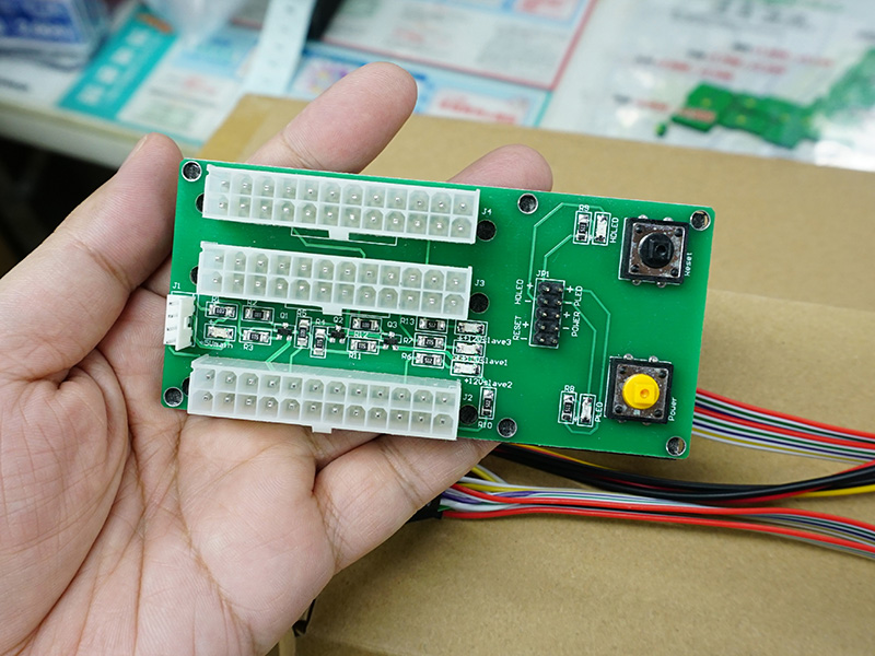 電源4連動ボード(SC-PSRB4)