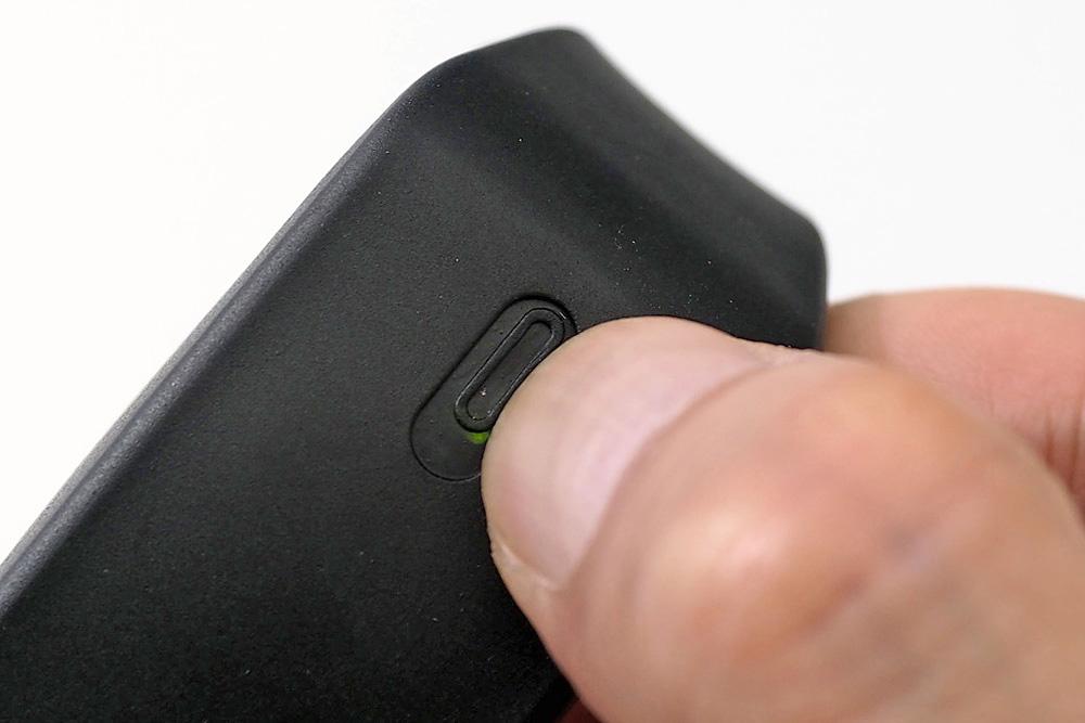 ボタンLED点灯/振動、ビープ音、LEDと3つの反応があればどれかで気づけるだろう