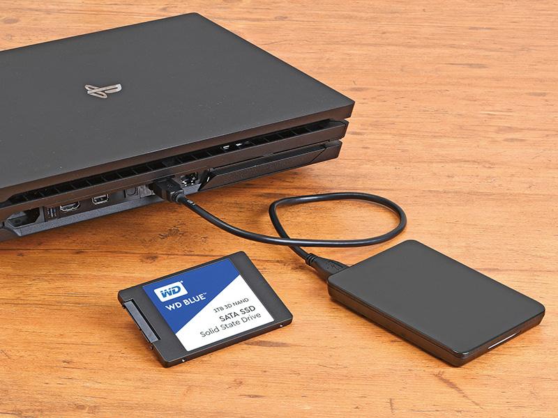 外付けSSDを使う方法ならPS4のパワーアップはもっと簡単!