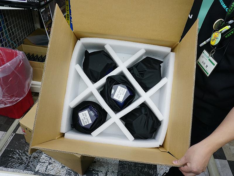 Core i9-9900Kは段ボール1箱に5個しか入らない