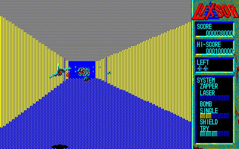 3Dステージは、とにかく止まらずに動き続けるのがクリアへの近道です。それがマスターできれば、最終ステージのボスも簡単に倒せます