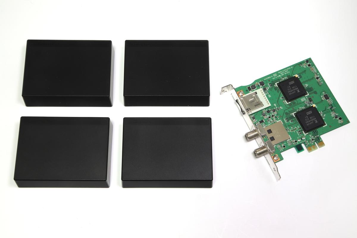 今回はGV-MVP/AZを4台と、GV-MVP/XS2Wを1枚使用し、6チャンネル同時録画環境を構築した。